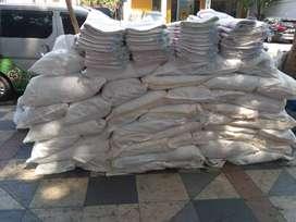 Jual karung plastik ukuran 25kg harga 2000