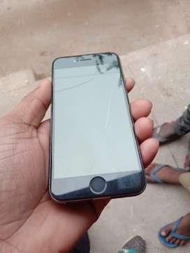 Iphone 6 64 gb urgent sale display damage