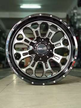 Velg Racing R20 Hole 6 Utk Fortuner