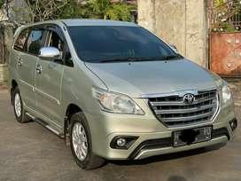 Toyota Kijang Innova G Diesel 2014 Manual Asli Plat H Tangan Pertama