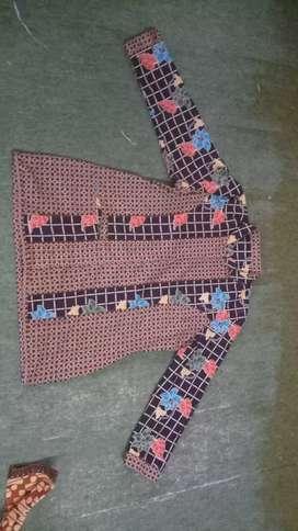 baju batik pola baju dinas asn