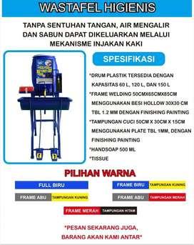 Wastafel Portabel Tempat Cuci Tangan Higienis 60L