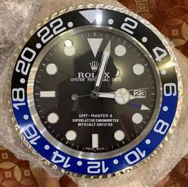 Rolex wall clocks with date - silent automatic movement