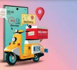 Zomoto cycle food delivery job(Chennai)