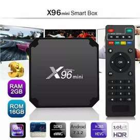 Android Smart X-96 TV Box 2Gb /16Gb Brand New With Free Delivery
