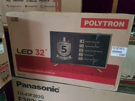 Tv Led Polytron 32inci New Garansi 5 Tahun FULL Part