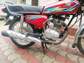 Honda 125 2018 ammaculate condition total genuine