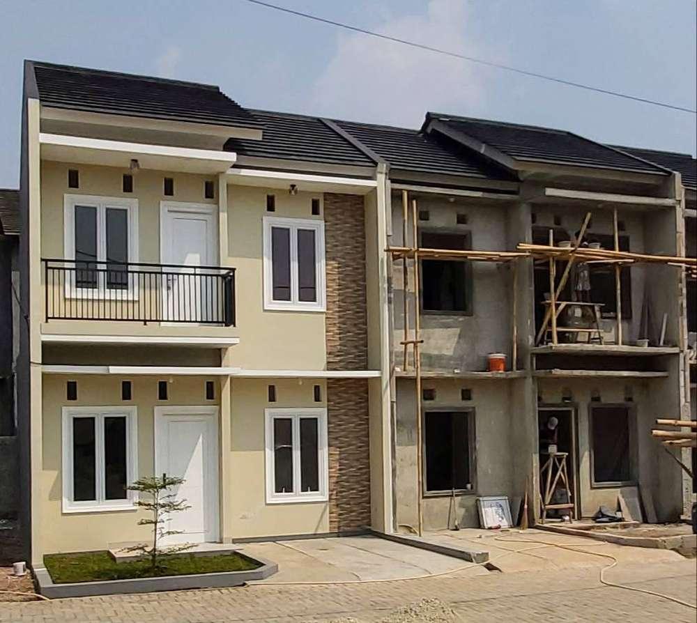 rumah baru 2 lantai dijual lokasi strategis di kelapa dua depok