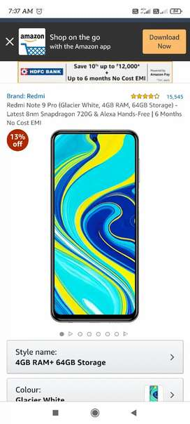 Mi note 9 pro exchange or sell