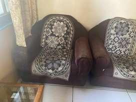 Sofa set & chair