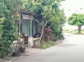 Tanah + Rumah Mangku Jalan Aspal Kampung