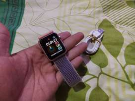 Apple Iwatch Gen 1 38mm unit charger Mulus Rosegold