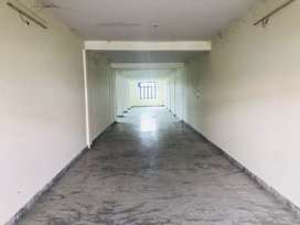 A 1700 sq hall is available next to kapilaz sweets and restaurants