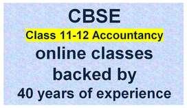 CBSE Class 12 Accountancy Online Class