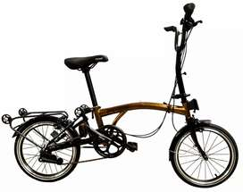 Sepeda lipat element pikes 3 s gold edition