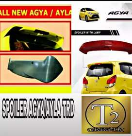 Spiiler all new agya/ayla MODEL TRD elegan bikin tampil beda