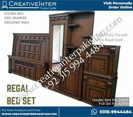 Regal bed set double wholesale sofa office chair table dining cupboard