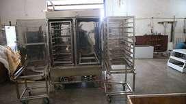 Steamer Mesin Kukus Serbaguna Kapasitas 20 Loyang