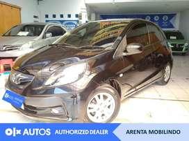 [OLXAutos] Honda Brio Satya E 1.2 2015 M/T Hitam #Arenta Mobilindo