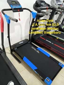 Treadmill listrik 1 fungsi Ready bisa bayar ditempat