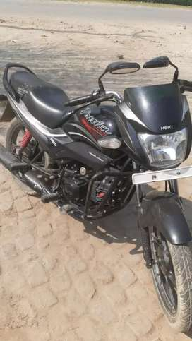 brand new bike. condition  very good  47000 rs. me bechni hai