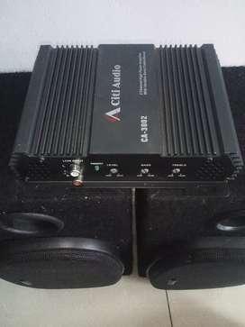 power mobil dua channel