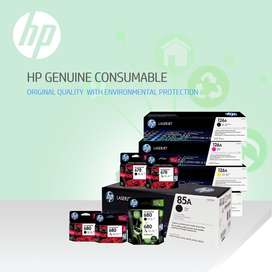 hp and samsang toner and ink cartridges available