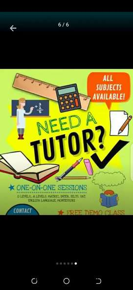 Expert And Professional Lady Home Tutors Required Throughout World