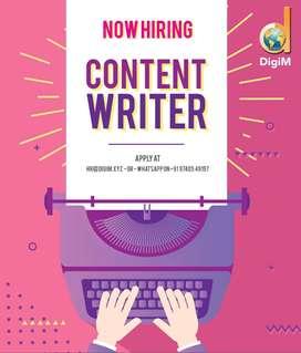 Content Developer / Social Media Executive