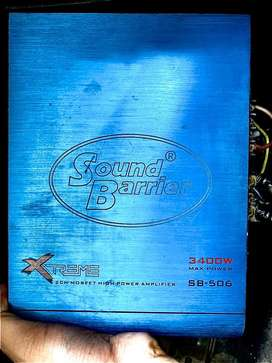 Sound barrier Amplifier 3400W SB-506