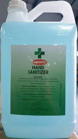 Sanitaiser harga pabrik 5ltr