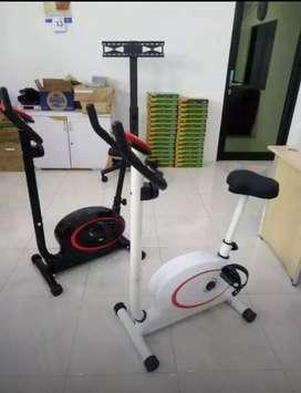 Alat fitnes magnetick bike murah