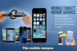 Mobile repairing and unlock second hand mobile available
