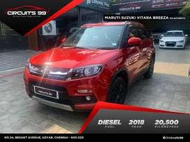 Maruti Suzuki Vitara Brezza ZDi AMT, 2018, Diesel