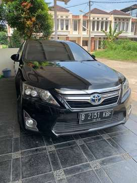 Camry hybrid 2013 mulus nego dari pemakai