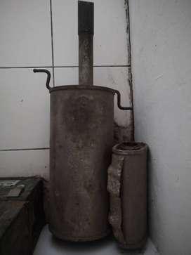 Knalpot Original Timor + Filter