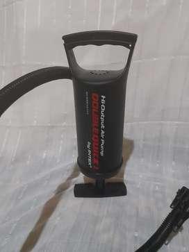 Hi-output air pump double quick