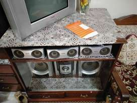 T.V TROLLEY, SHOW-CASE & DRESSING TABLE