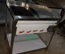 Grill plus hot Plate 2by3 fitted with stone