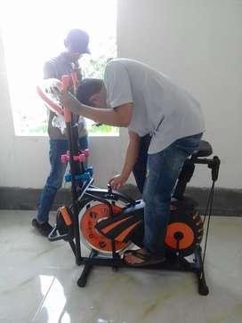 10 fungsi kebugaran Sepeda statis gedssporty