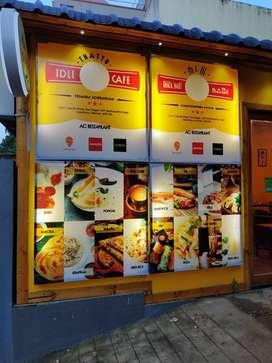 South Indian Cafe/Restaurant for sale - Velachery