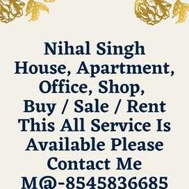 Varanasi Area Shop, Room, Apartment, Available