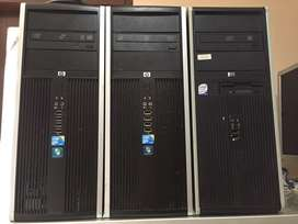 HP built up Core2duo bergaransi 1 Bulan