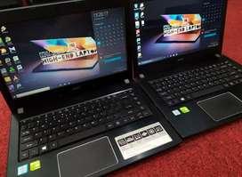 Acere e5-475 i5kbylake 4/1tb dual slot ram + ssd nvdia 940mx
