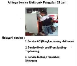 Tempat servis Kulkas Ac tidak dingin, Mesin cuci 2tabung merk SAMSUNG