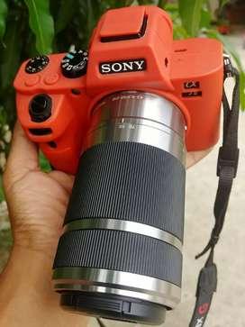 Sony lensa tele E mount 55 210mm oss