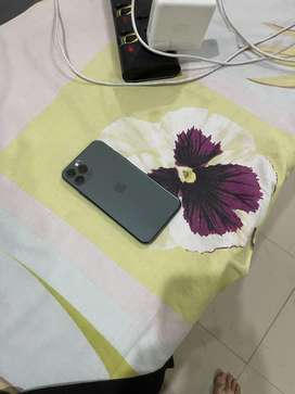 Iphone 11 pro (64gb, midnight green, pta approved)