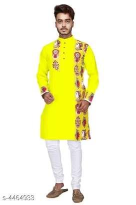 Catalog Name:*Essential Men Kurtas* Fabric: Cotton Sleeve Length: LF