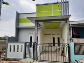 Rumah Minimalis Siap Huni Vila gading harapan 1 pintu barat