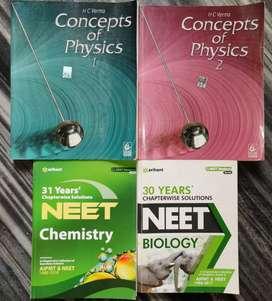 Physics chemistry biology books